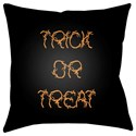 Surya Boo 18 x 18 x 4 Polyester Throw Pillow - Item Number: BOO126-1818