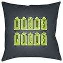 Surya Boo 20 x 20 x 4 Polyester Throw Pillow - Item Number: BOO135-2020
