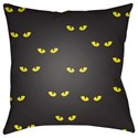 Surya Boo 18 x 18 x 4 Polyester Throw Pillow - Item Number: BOO151-1818