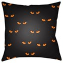 Surya Boo 18 x 18 x 4 Polyester Throw Pillow - Item Number: BOO152-1818