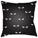 Surya Boo 18 x 18 x 4 Polyester Throw Pillow - Item Number: BOO153-1818
