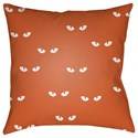 Surya Boo 18 x 18 x 4 Polyester Throw Pillow - Item Number: BOO154-1818
