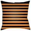 Surya Boo 20 x 20 x 4 Polyester Throw Pillow - Item Number: BOO156-2020