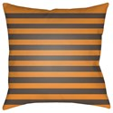 Surya Boo 18 x 18 x 4 Polyester Throw Pillow - Item Number: BOO158-1818
