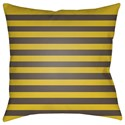 Surya Boo 18 x 18 x 4 Polyester Throw Pillow - Item Number: BOO160-1818