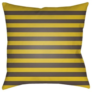 Surya Boo 20 x 20 x 4 Polyester Throw Pillow