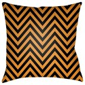 Surya Boo 20 x 20 x 4 Polyester Throw Pillow - Item Number: BOO162-2020