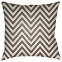 Surya Boo 20 x 20 x 4 Polyester Throw Pillow - Item Number: BOO164-2020