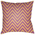Surya Boo 20 x 20 x 4 Polyester Throw Pillow - Item Number: BOO165-2020