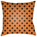 Surya Boo 20 x 20 x 4 Polyester Throw Pillow - Item Number: BOO166-2020