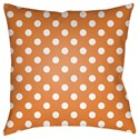 Surya Boo 18 x 18 x 4 Polyester Throw Pillow - Item Number: BOO167-1818