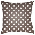 Surya Boo 18 x 18 x 4 Polyester Throw Pillow - Item Number: BOO168-1818