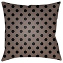 Surya Boo 18 x 18 x 4 Polyester Throw Pillow - Item Number: BOO169-1818