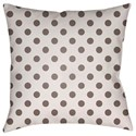 Surya Boo 18 x 18 x 4 Polyester Throw Pillow - Item Number: BOO170-1818