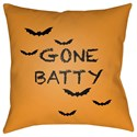 Surya Boo 18 x 18 x 4 Polyester Throw Pillow - Item Number: BOO177-1818