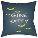 Surya Boo 20 x 20 x 4 Polyester Throw Pillow - Item Number: BOO179-2020