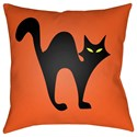 Surya Boo 18 x 18 x 4 Polyester Throw Pillow - Item Number: BOO109-1818