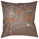 Surya Boo 18 x 18 x 4 Polyester Throw Pillow - Item Number: BOO112-1818