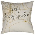 Surya Boo 20 x 20 x 4 Polyester Throw Pillow - Item Number: BOO113-2020