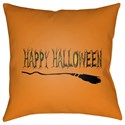 Surya Boo 18 x 18 x 4 Polyester Throw Pillow - Item Number: BOO122-1818