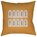 Surya Boo 20 x 20 x 4 Polyester Throw Pillow - Item Number: BOO133-2020