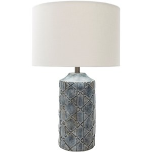 Surya Brenda Antique Rustic Table Lamp