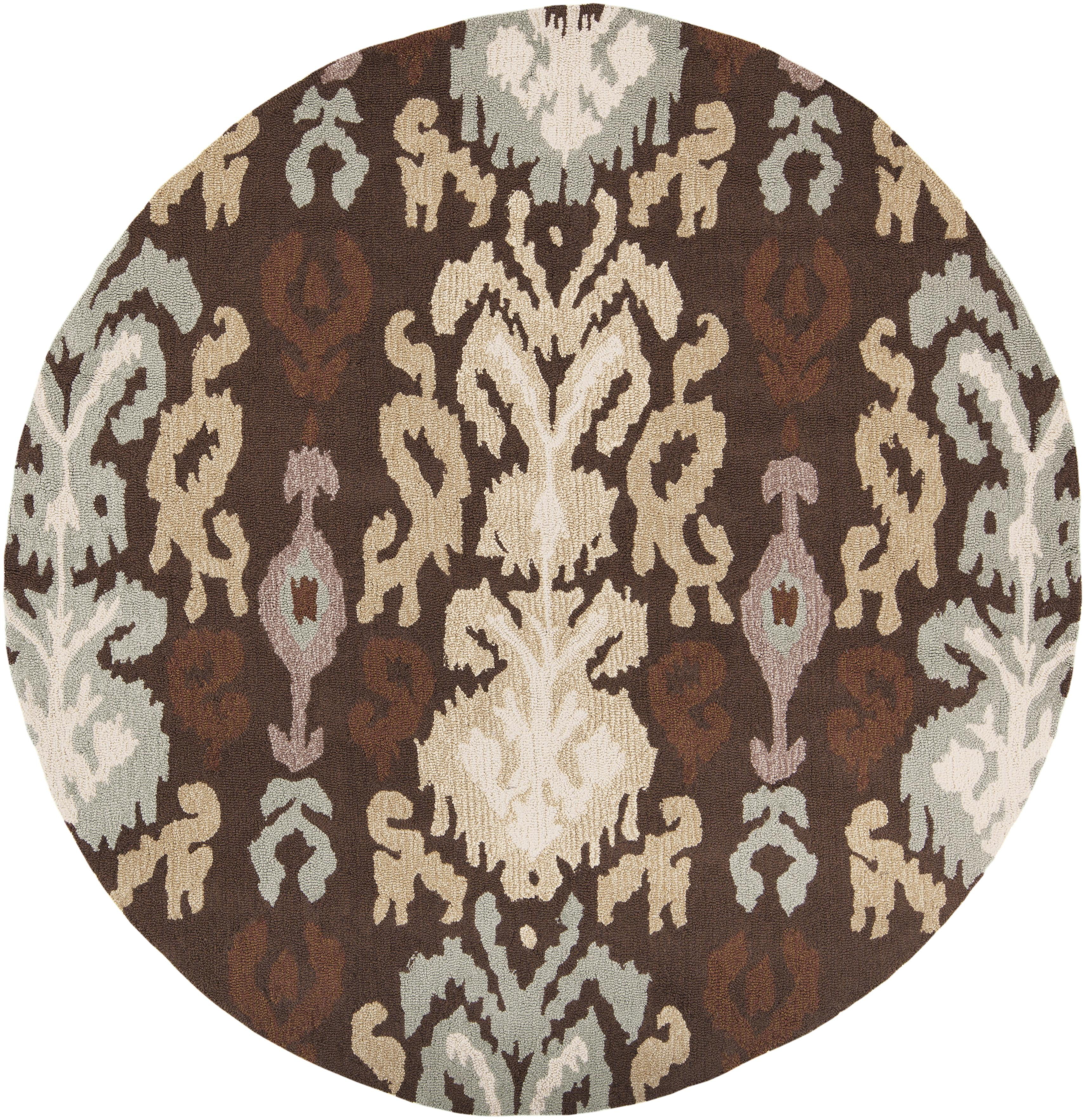 Surya Brentwood 3' Round - Item Number: BNT7673-3RD