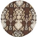Surya Brentwood 6' Round - Item Number: BNT7673-6RD