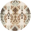 Surya Brentwood 4' Round - Item Number: BNT7674-4RD