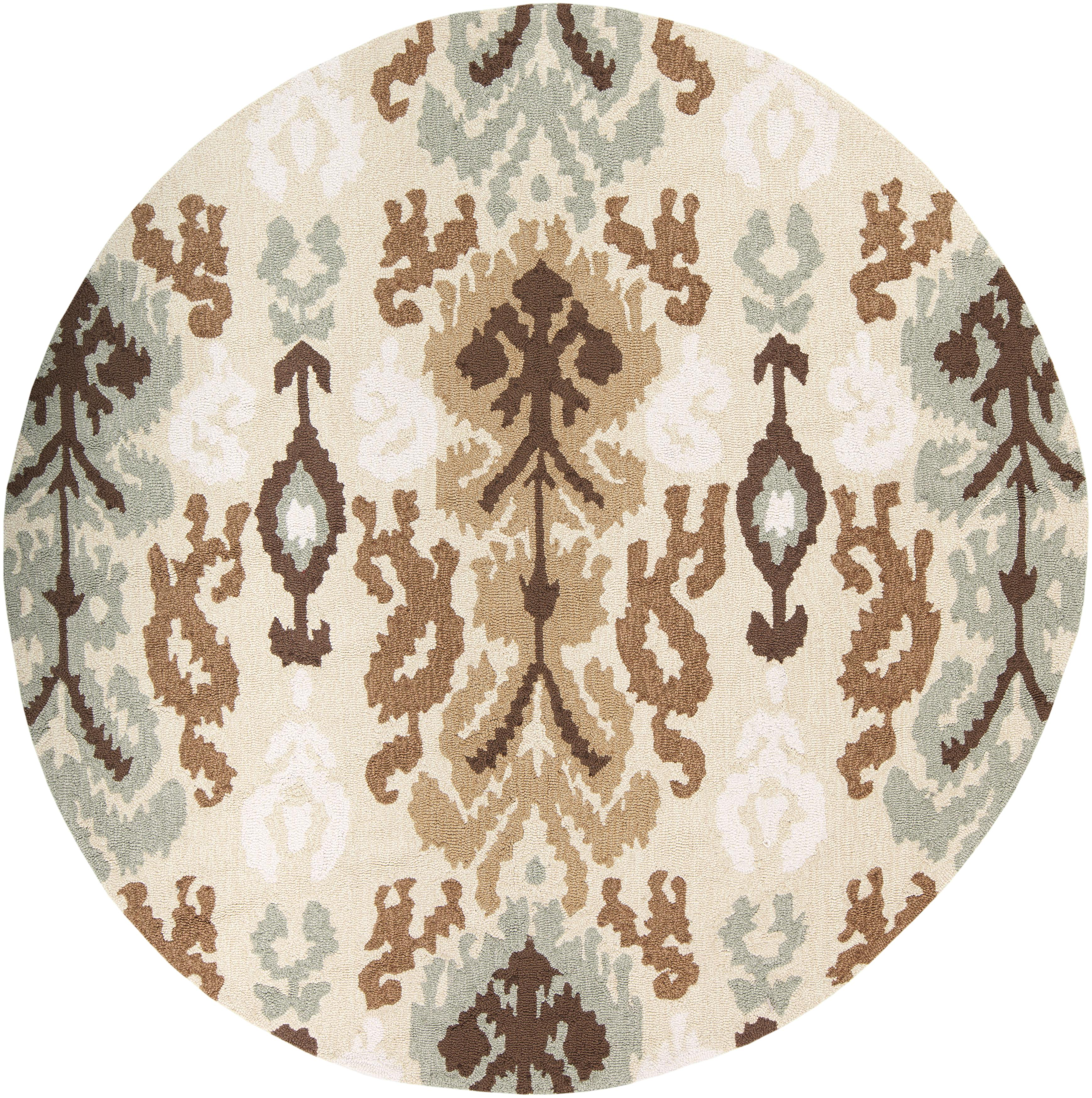 Surya Brentwood 6' Round - Item Number: BNT7674-6RD