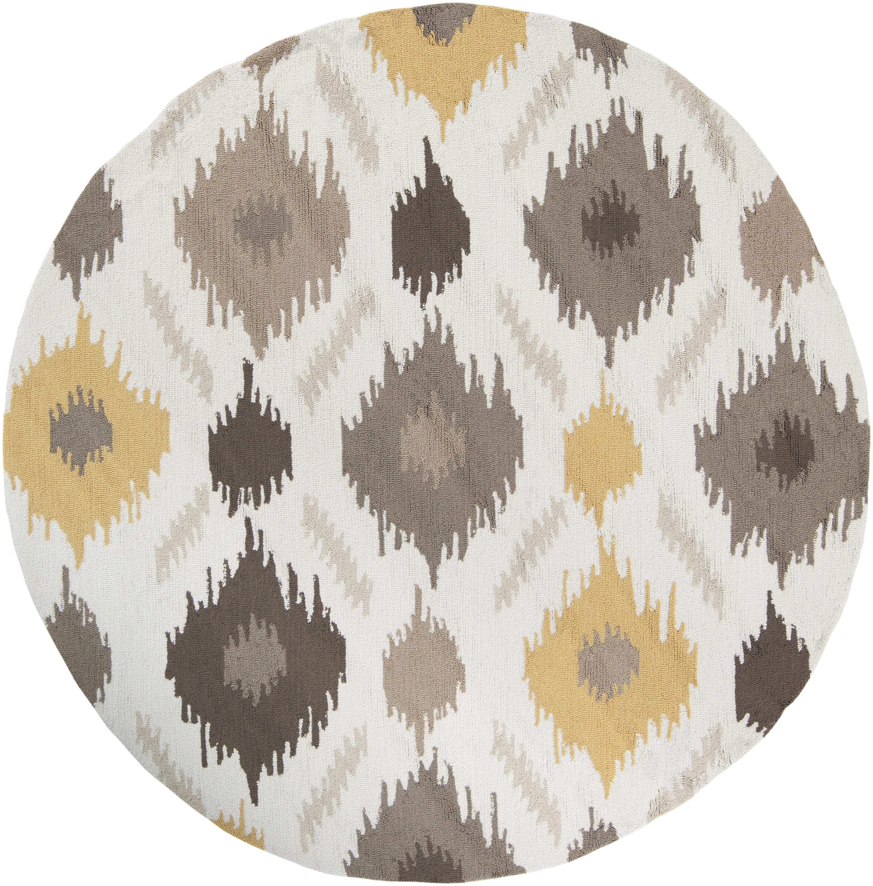 Surya Brentwood 4' Round - Item Number: BNT7676-4RD