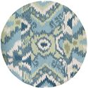 Surya Brentwood 4' Round - Item Number: BNT7678-4RD