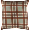 Surya Brigadoon 18 x 18 x 4 Down Pillow Kit - Item Number: BRG003-1818D