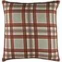 Surya Brigadoon 20 x 20 x 4 Down Pillow Kit - Item Number: BRG003-2020D
