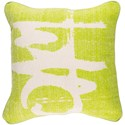 Surya Bristle 20 x 20 x 4 Polyester Throw Pillow - Item Number: BT004-2020P