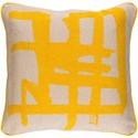 Surya Bristle 20 x 20 x 4 Polyester Throw Pillow - Item Number: BT006-2020P