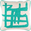 Surya Bristle 20 x 20 x 4 Down Throw Pillow - Item Number: BT007-2020D