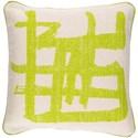 Surya Bristle 20 x 20 x 4 Down Throw Pillow - Item Number: BT008-2020D