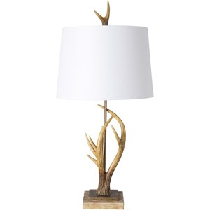 Surya Buckland Antique Glam Table Lamp