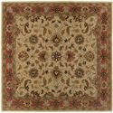 Surya Rugs Caesar 4' Square - Item Number: CAE1001-4SQ