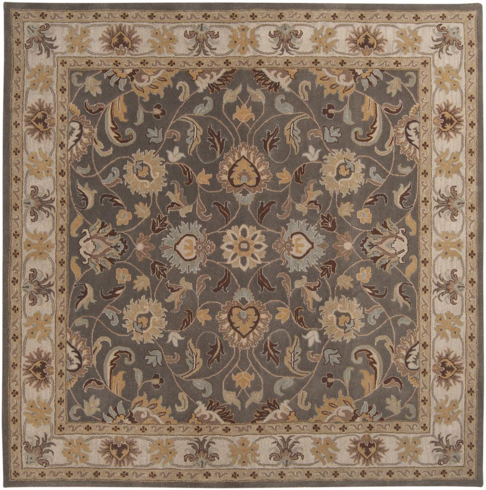 Surya Caesar 4' Square - Item Number: CAE1005-4SQ