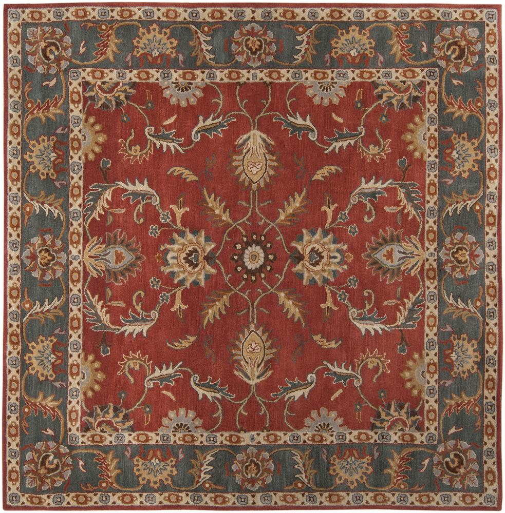 Surya Rugs Caesar 4' Square - Item Number: CAE1007-4SQ