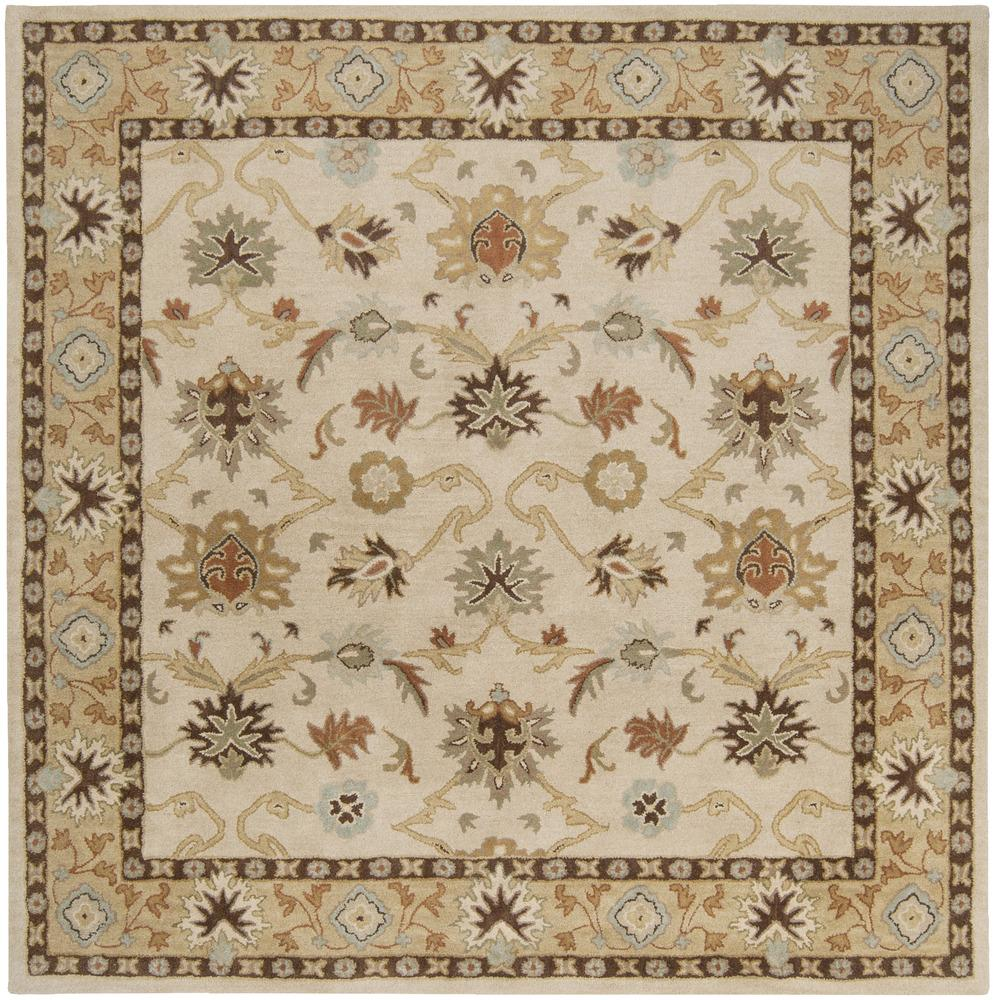 Surya Rugs Caesar 8' Square - Item Number: CAE1010-8SQ