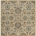 Surya Rugs Caesar 4' Square - Item Number: CAE1012-4SQ