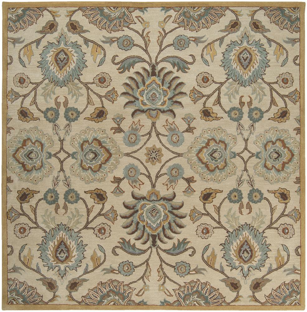 Surya Rugs Caesar 6' Square - Item Number: CAE1012-6SQ