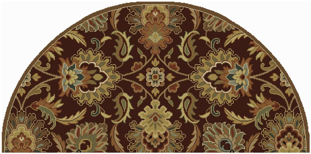 Surya Rugs Caesar 2' x 4' Hearth - Item Number: CAE1028-24HM