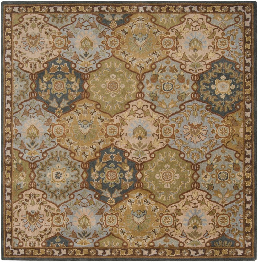 Surya Caesar 6' Square - Item Number: CAE1032-6SQ