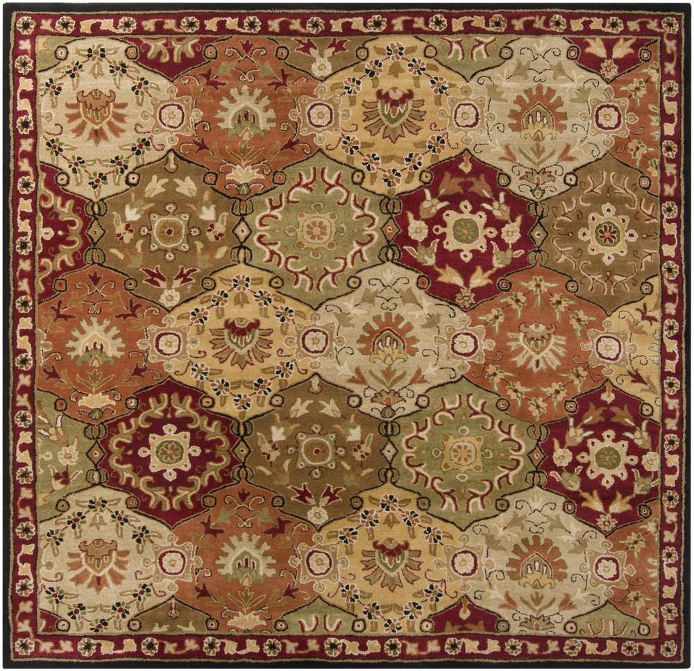 Surya Rugs Caesar 4' Square - Item Number: CAE1034-4SQ