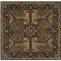 Surya Rugs Caesar 4' Square - Item Number: CAE1048-4SQ