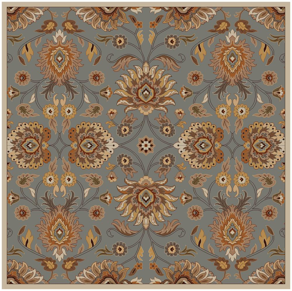 Surya Caesar 8' Square - Item Number: CAE1052-8SQ